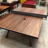 You & Me Table tennis table in walnut