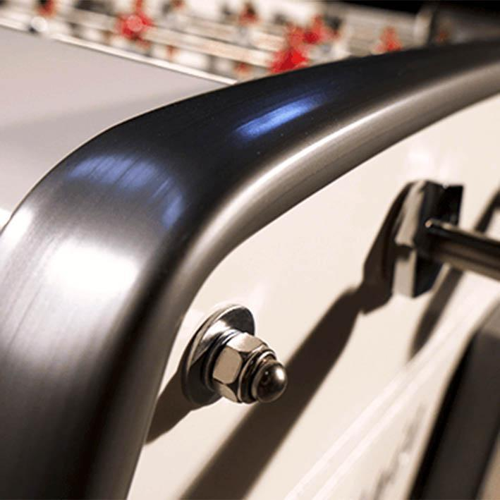 Sulpie Evolution Foosball Table in Gloss White Lacquer
