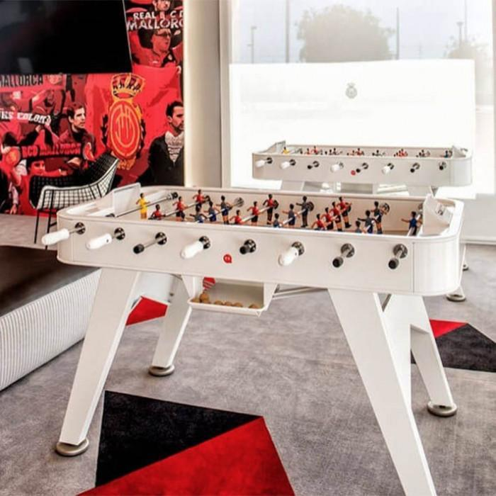 RS2 Indoor Foosball Table in White Ex-Display