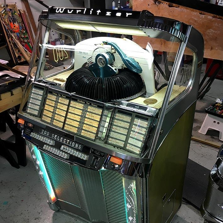 Original Wurlitzer 2000 Centennial Jukebox