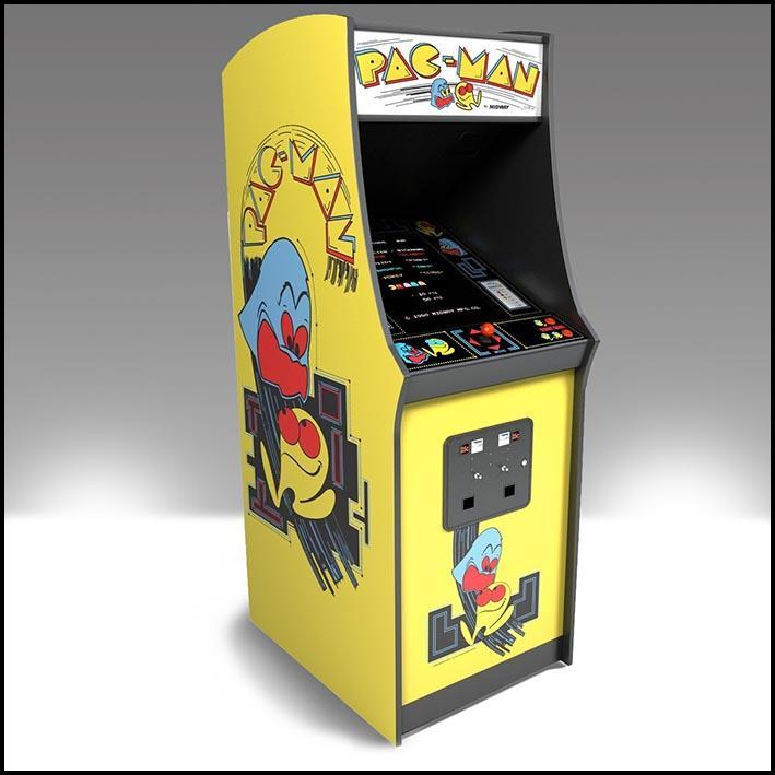 Pac-man Arcade Game 1980s Original