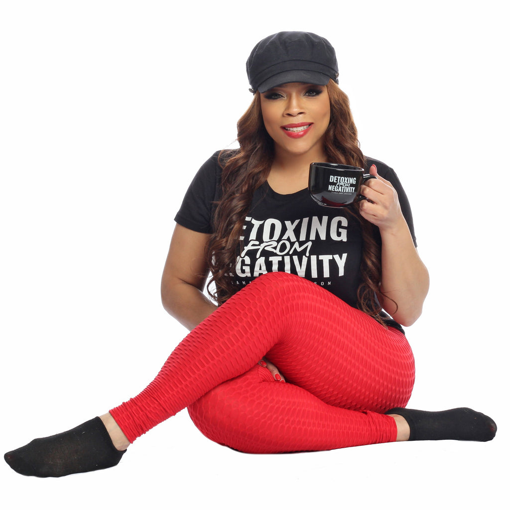 """DETOXIFYING FROM NEGATIVITY"" T-SHIRT"