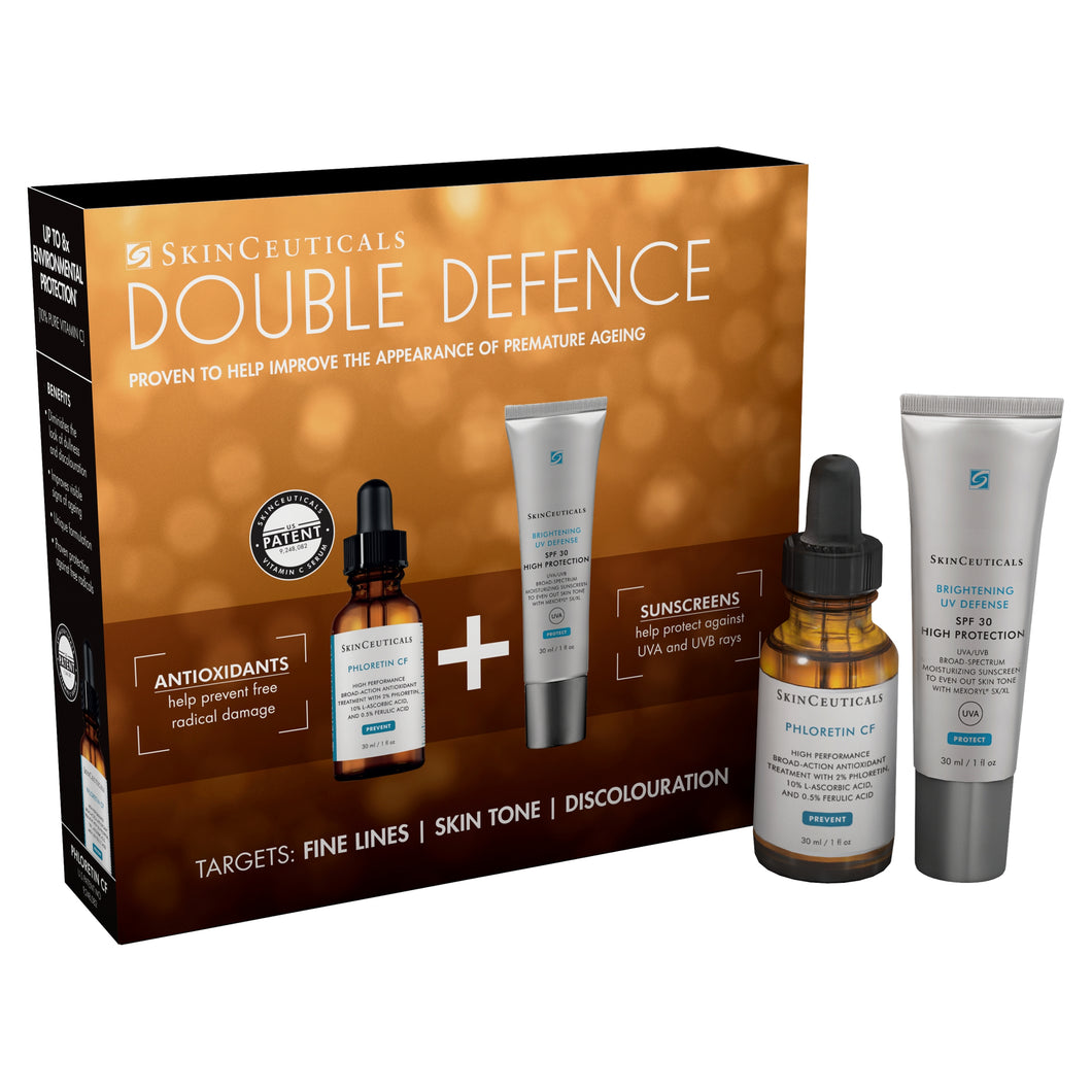 SkinCeuticals Double Defence: Phloretin CF and Brightening UV Defense SPF 30 Set