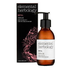 Elemental Herbology Metal Detox Bath & Body Oil