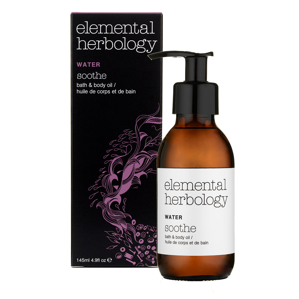 Elemental Herbology Water Soothe Bath & Body Oil