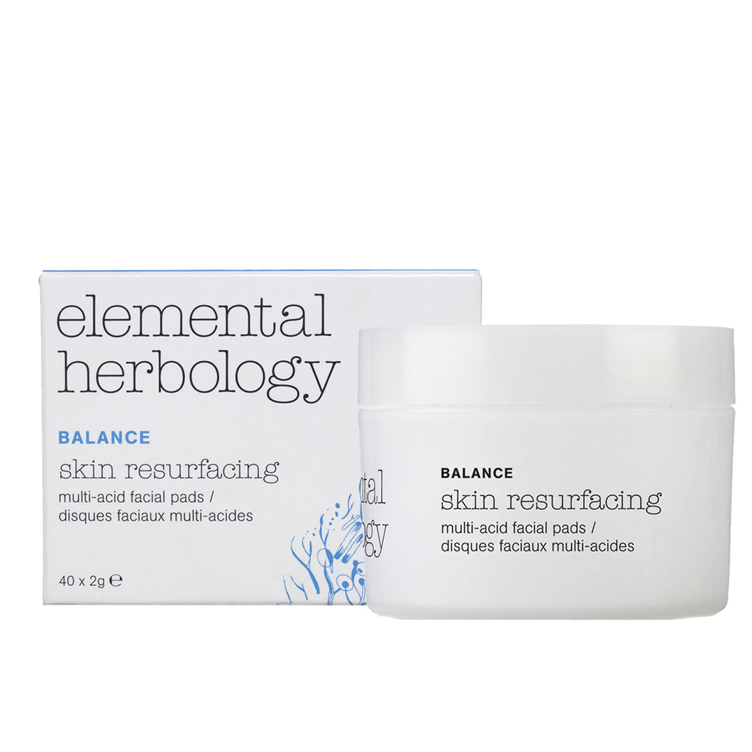 Elemental Herbology Skin Resurfacing Multi Acid Facial Pads