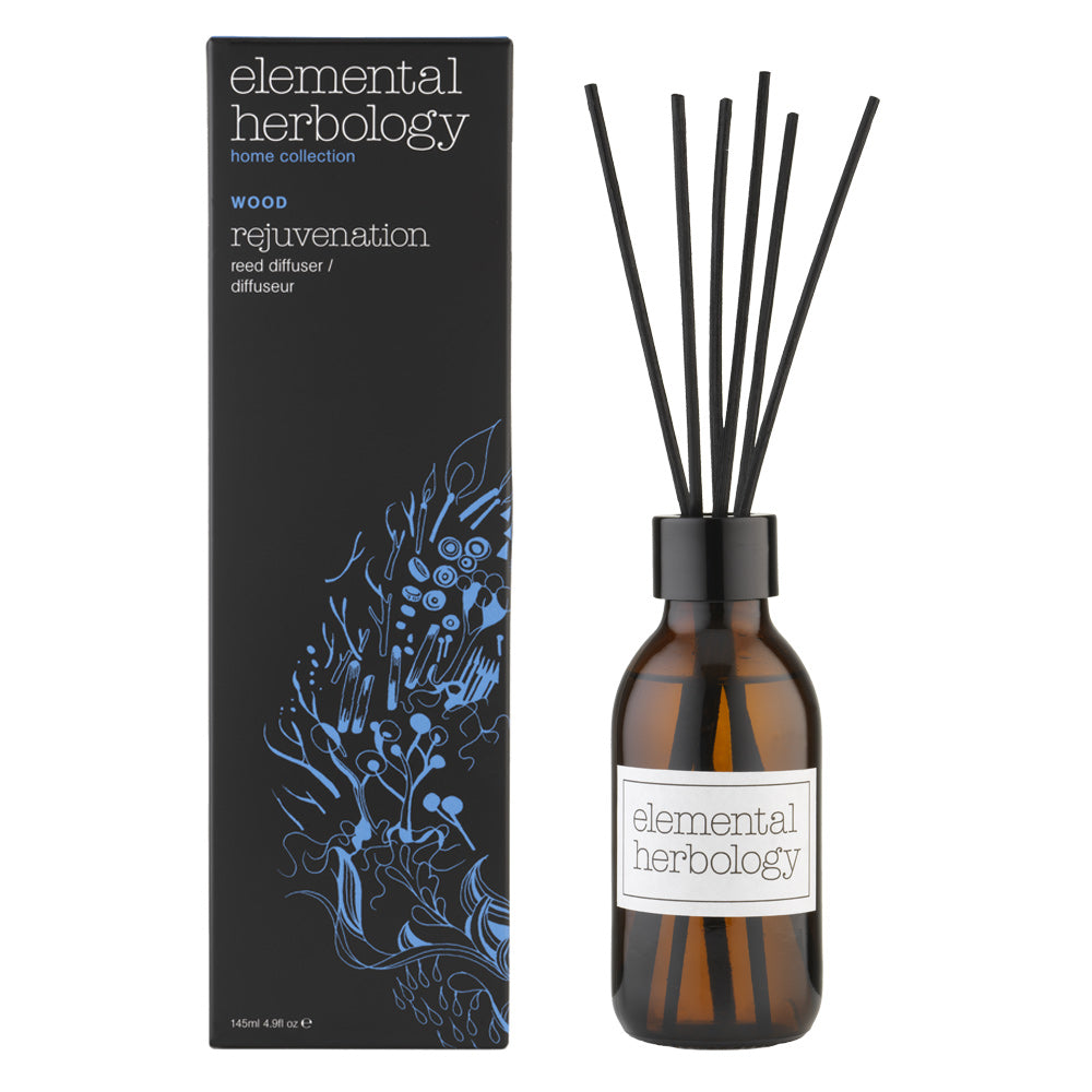 Elemental Herbology Wood Rejuvenation Reed Diffuser