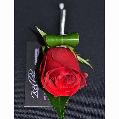 Stakes Day red rose buttonhole