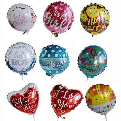 Balloons message gift