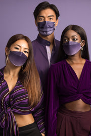 Blackcurrant Ombré Adult Korean-style Respirator 2.0 (10-pack)