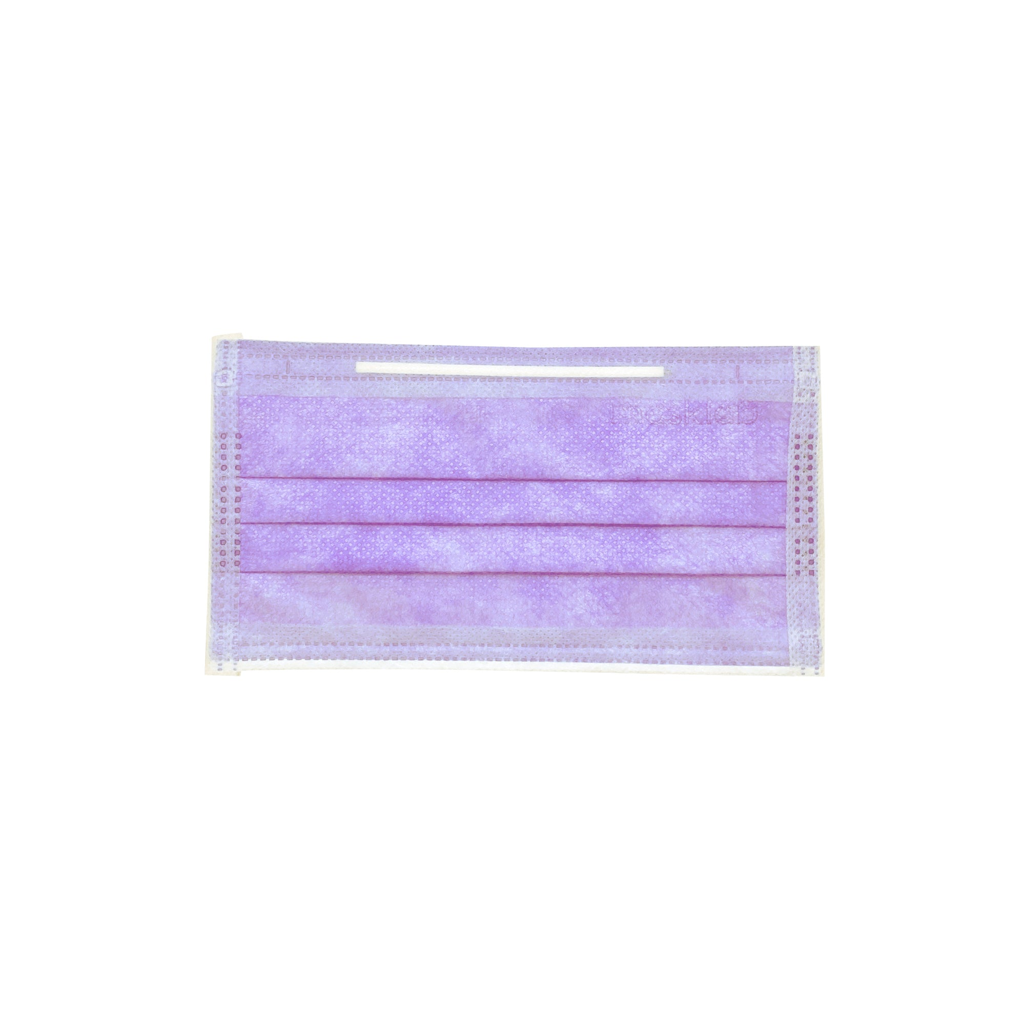 PURPLE 3-PLY SURGICAL FACE MASK (50-PACK)