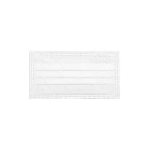 White 3-Ply Surgical Face Mask (50-Pack)