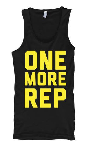 One More Rep - Tank Tops