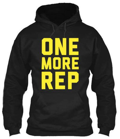 One More Rep - Hoodies