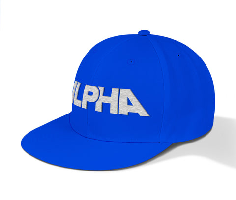ALPHA Fit Snapbacks - Solitary Coloured