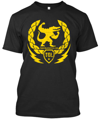 The Gym Lifestyle - Gold Edition T-Shirts