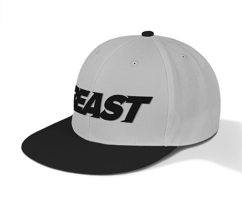 BEAST Fit Snapbacks - Black+Grey/White