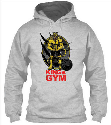 King Of The Gym - Hoodies