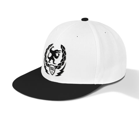 TeamTGL Fit Snapbacks - Black+Grey/White