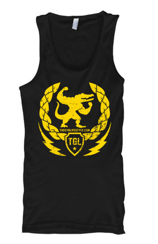 The Gym Lifestyle - Gold Edition Tank Tops