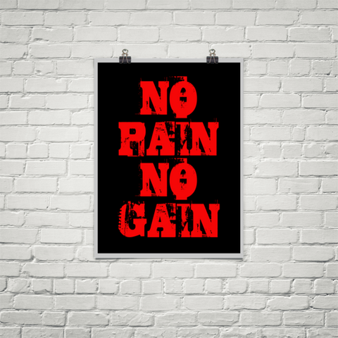 No Pain No Gain - Poster