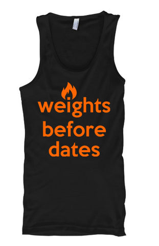 Weights Before Dates - Tank Tops