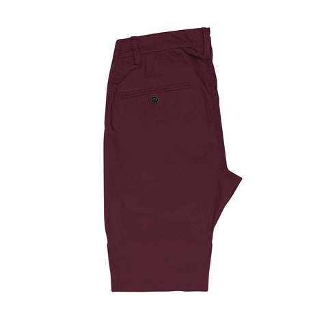 Short chino Nacka Burgundy