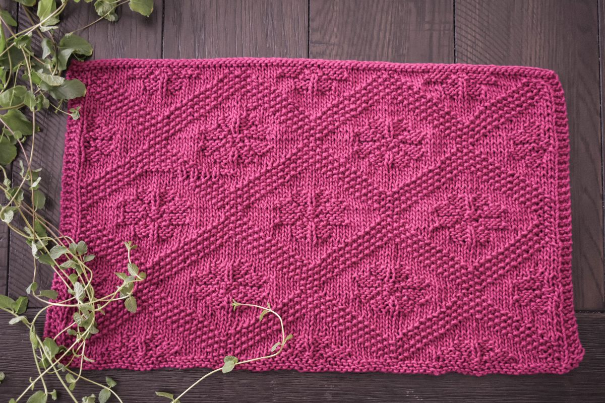Knitting Pattern: The Catalina Placemat