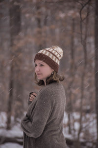 The Olena Hat Knitting Pattern
