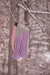 Free Knit Pattern: The Deep Woods Scarf.