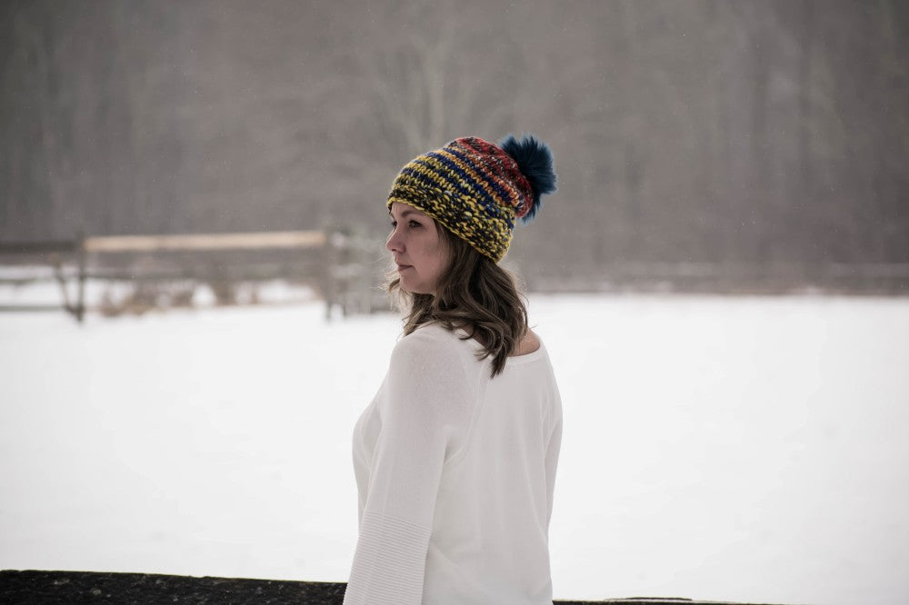 The Long Mountain Hat Knit pattern