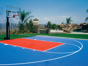 Teren sport Streetball Half Court Optimal 9,37 m. x 9,37m.