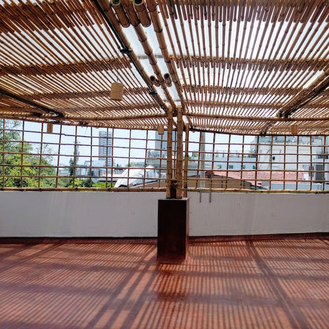 Bamboopecker Bamboo Terrace yoga hall 5