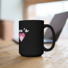 Load image into Gallery viewer, Pastor's Wife Black Mug 15oz