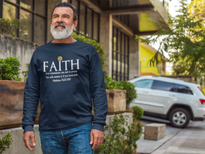 FAITH-Men's Premium Long Sleeve T-Shirt