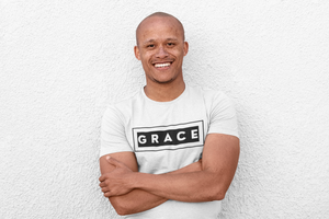 GRACE-MEN'S Fitted Cotton/Poly T-Shirt
