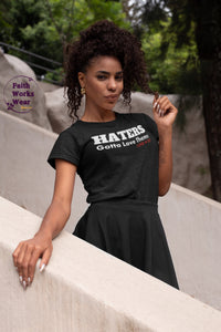 HATERS-Women's Premium T-Shirt