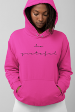 Load image into Gallery viewer, BE GRATEFUL- WOMEN'S Heavy Blend Hoodie