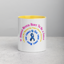 Load image into Gallery viewer, Faith Works Wear Awareness Mug with Color Inside