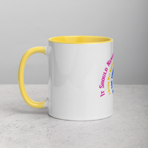 Faith Works Wear Awareness Mug with Color Inside