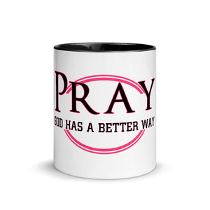 Pray-Faith Works Wear Mug with Color Inside