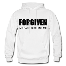 Load image into Gallery viewer, FORGIVEN-Men's Premium Heavy Blend Adult Hoodie - white