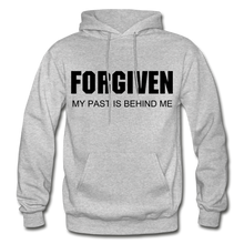Load image into Gallery viewer, FORGIVEN-Men's Premium Heavy Blend Adult Hoodie - heather gray
