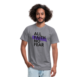 NO FEAR-Men's Premium Jersey T-Shirt - slate