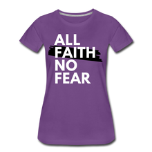 Load image into Gallery viewer, NO FEAR-Women's Premium T-Shirt - purple