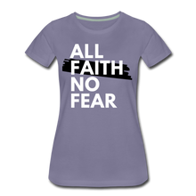 Load image into Gallery viewer, NO FEAR-Women's Premium T-Shirt - washed violet