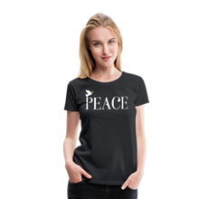 Load image into Gallery viewer, PEACE-Premium Woman's T - black