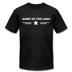 ARMY OF THE LORD-Unisex Jersey T-Shirt by Bella + Canvas - black