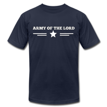 Load image into Gallery viewer, ARMY OF THE LORD-Unisex Jersey T-Shirt by Bella + Canvas - navy