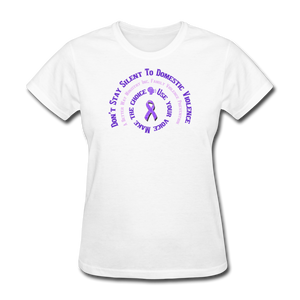 Awareness-Women's T-Shirt - white